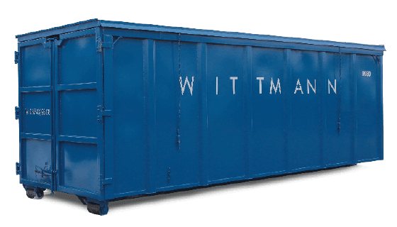 Abroll Container von Wittmann Recycling