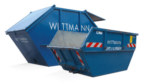 Absetz Container von Wittmann Recycling