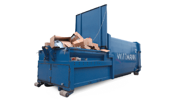 Press Container von Wittmann Recycling