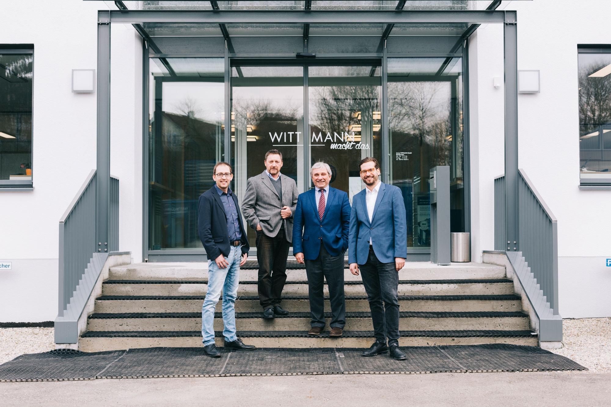Der Vorstand von Wittmann Recycling