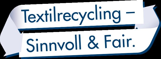 Wittmann Recycling Claim über Textilreycling