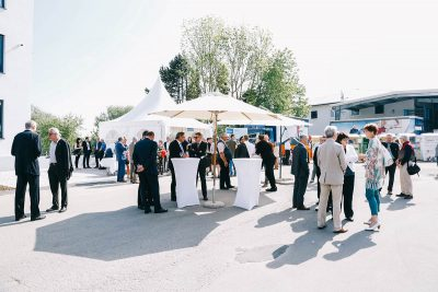 Veranstaltungsort des Wittmann Recycling Firmenjubiläum
