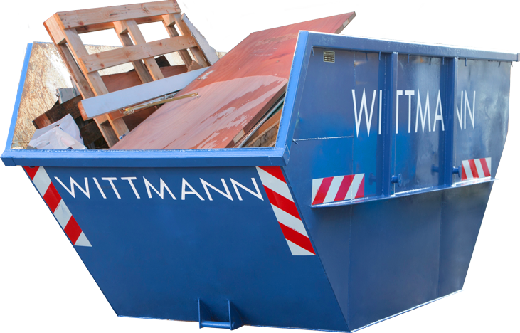 Wittmann Altholz Container